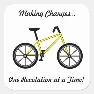Pegatina de la bicicleta