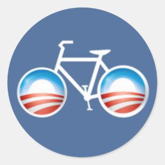 Pegatina de la bicicleta de Obama