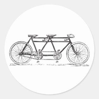 Pegatina de la bicicleta del vintage