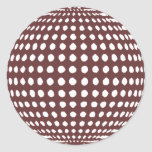 Pegatina de la bola de discoteca del fiesta