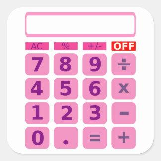 Pegatina de la calculadora