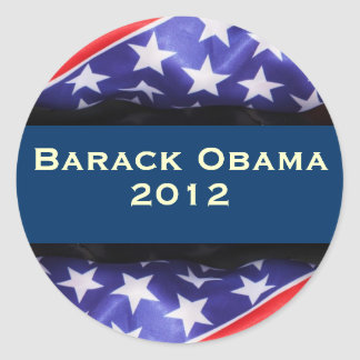 Pegatina de la campaña de OBAMA 2012