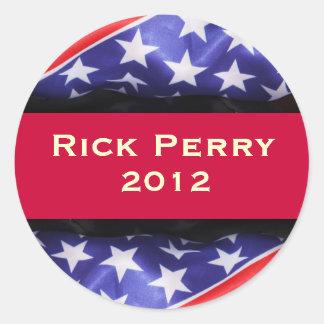 Pegatina de la campaña de Rick Perry 2012