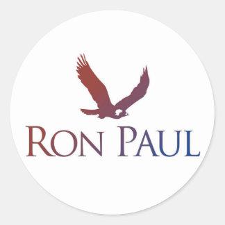 Pegatina de la campaña de Ron Paul 2012