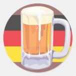 Pegatina de la cerveza de Oktoberfest