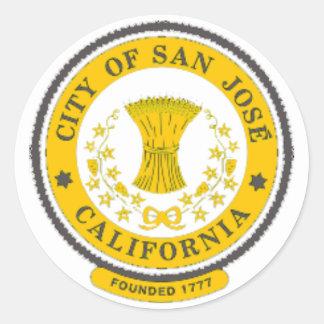 Pegatina de la circular de San Jose