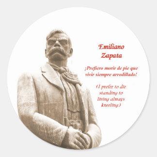 Pegatina de la cita de Emiliano Zapata