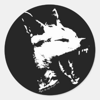 Pegatina de la cita del Dingo