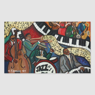 Pegatina de la ciudad del jazz