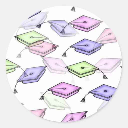 Pegatina de la clase de la graduación