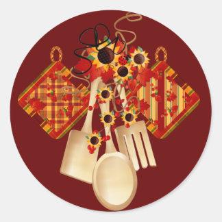 Pegatina de la cocina - SRF