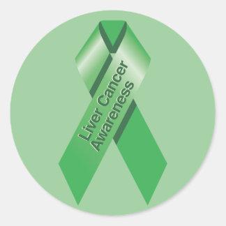 Pegatina de la conciencia del cáncer de hígado