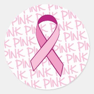 Pegatina de la conciencia del cáncer de pecho - ci