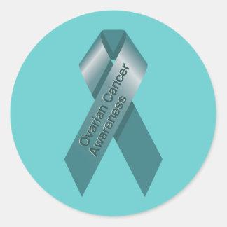 Pegatina de la conciencia del cáncer ovárico