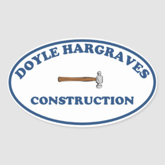 Pegatina de la construcción de Doyle Hargrave