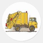 Pegatina de la construcción del camión de basura 2