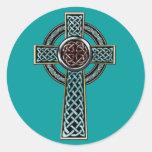 Pegatina de la cruz céltica