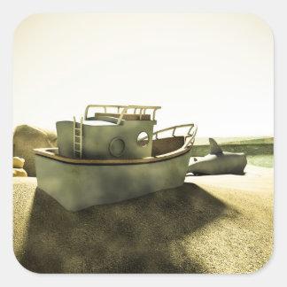 Pegatina de la diversión 02 de la caja de la arena