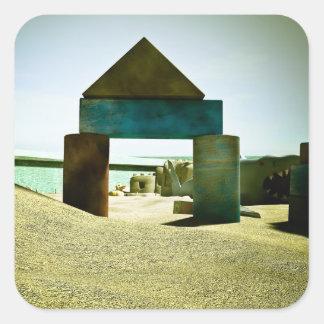 Pegatina de la diversión 04 de la caja de la arena