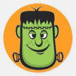Pegatina de la diversión de Frankenstein