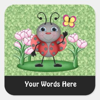 Pegatina de la diversión del insecto de la