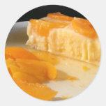 Pegatina de la empanada del melocotón