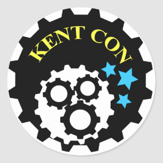 Pegatina de la estafa de Kent