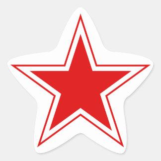 Pegatina de la estrella