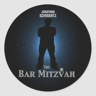Pegatina de la estrella de cine de Mitzvah de la