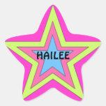 Pegatina de la estrella de Hailee