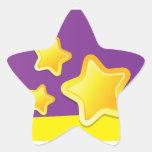 Pegatina de la estrella de la estrella