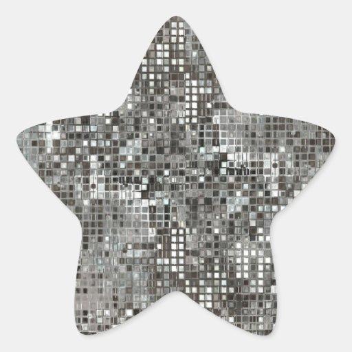 Pegatina de la estrella de las lentejuelas