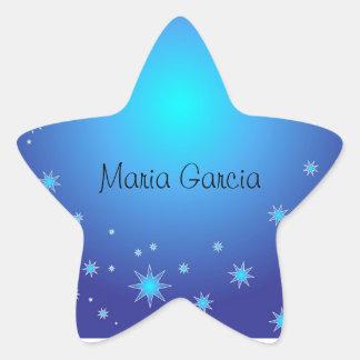 Pegatina de la estrella de Quinceañera