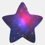 Pegatina de la estrella del racimo de Pandora