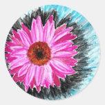 Pegatina de la explosión de la flor