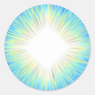 Pegatina de la explosión de Sun