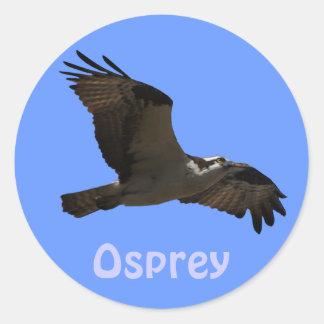 Pegatina de la fauna de Birdlover del rapaz de