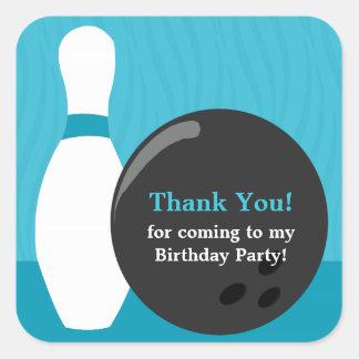 Pegatina de la fiesta de cumpleaños del muchacho