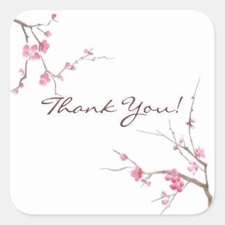 Pegatina de la flor de cerezo - personalizable