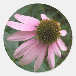 Pegatina de la flor del cono