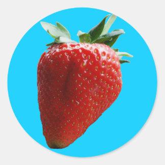 Pegatina de la fresa