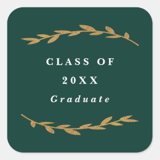 Pegatina de la graduación de la rama de la