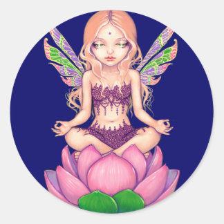 """""""Pegatina de la hada de Lotus"""""""