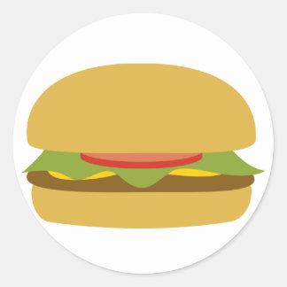 Pegatina de la hamburguesa