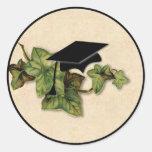 Pegatina de la hiedra de la graduación