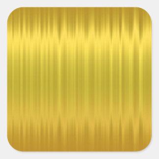 Pegatina de la hoja de oro