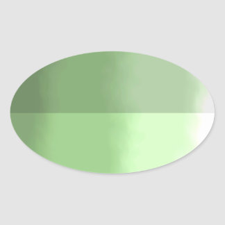 Pegatina de la hoja - palidezca - verde