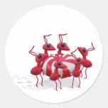 Pegatina de la hormiga y del caramelo