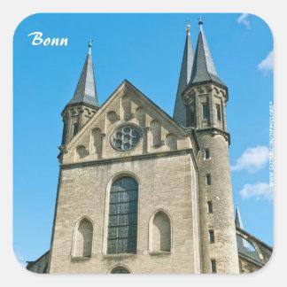 Pegatina de la iglesia de monasterio