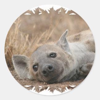 Pegatina de la imagen del Hyena